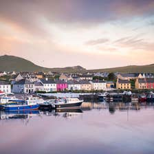 Image of Portmagee village in County Kerry