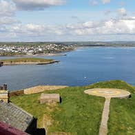 Ballycotton Sea Adventures view from the lighthouse on Ballycotton Island