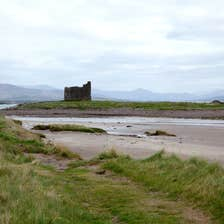 Image of Ballinskelligs Castle in County Kerry