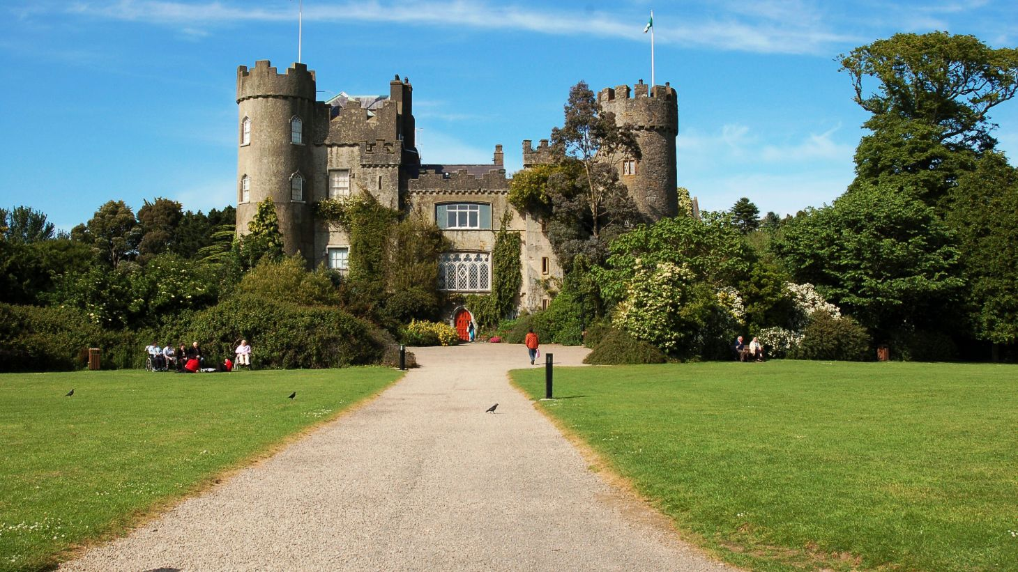 Let the kids play in the glorious grounds of Malahide Castle.