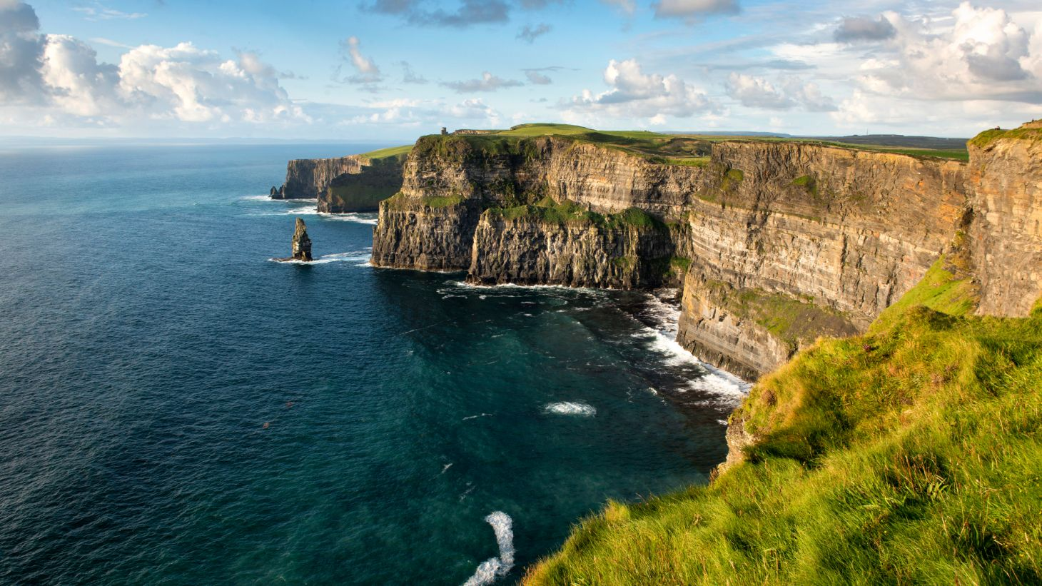 No trip to Clare is complete without seeing the incredible Cliffs of Moher