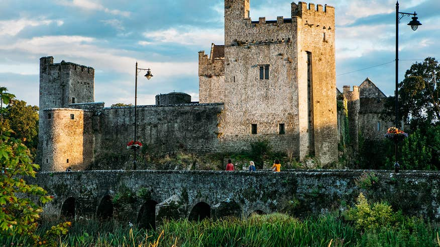 Visiting Cahir Castle is a must when you're in Tipperary.