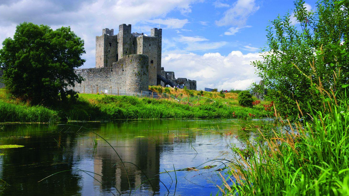 Admire Trim Castle.