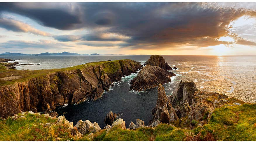 Visit Ireland's most northerly point, Malin Head in Donegal.