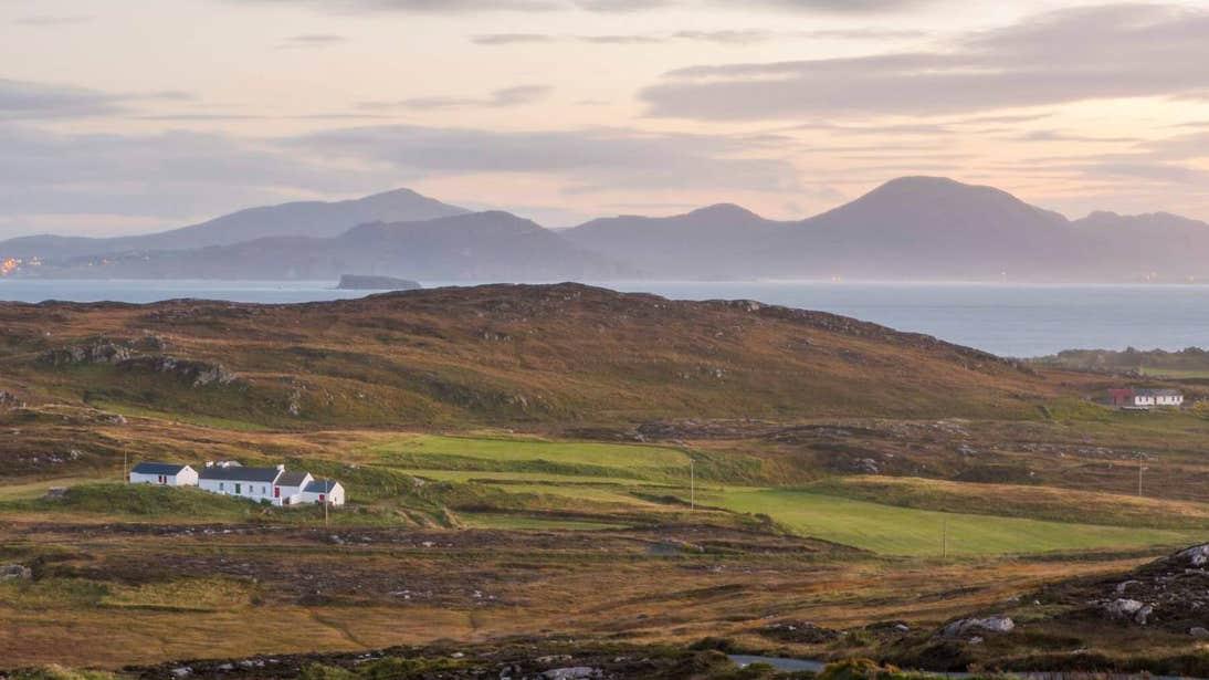 Landscape shot of Malin Head in Donegal