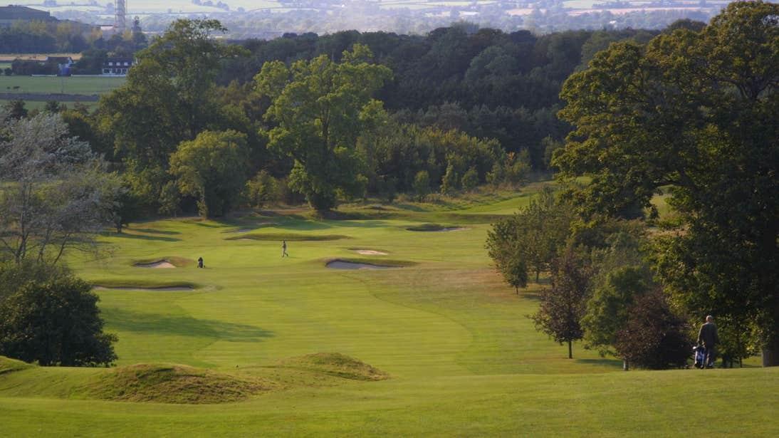 An open fairway at Carlow Golf Club, Deerpark, County Carlow