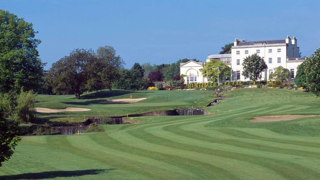 Druids Glen Resort Spa in front of a golf course in Wicklow