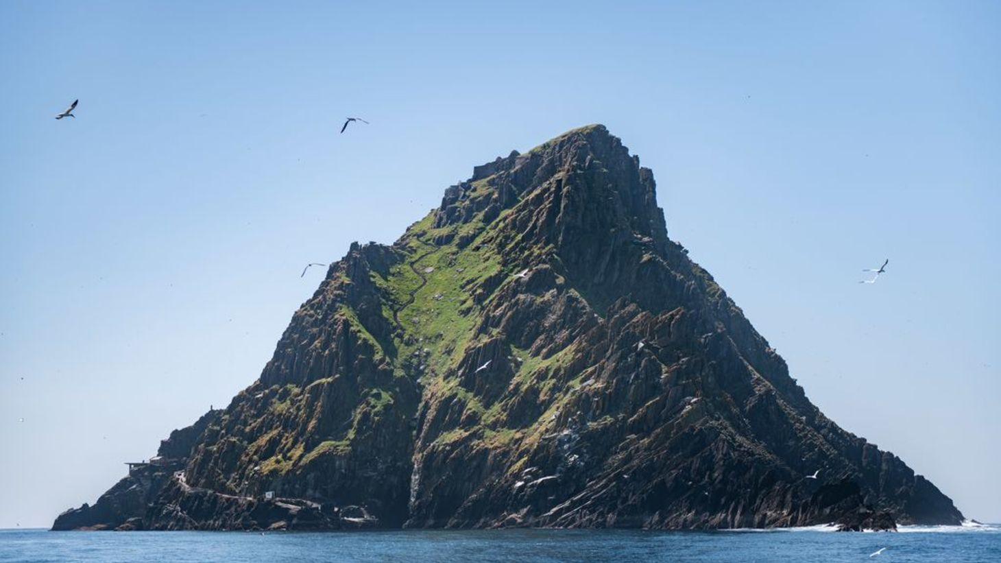 The iconic Skellig Michael in County Kerry.