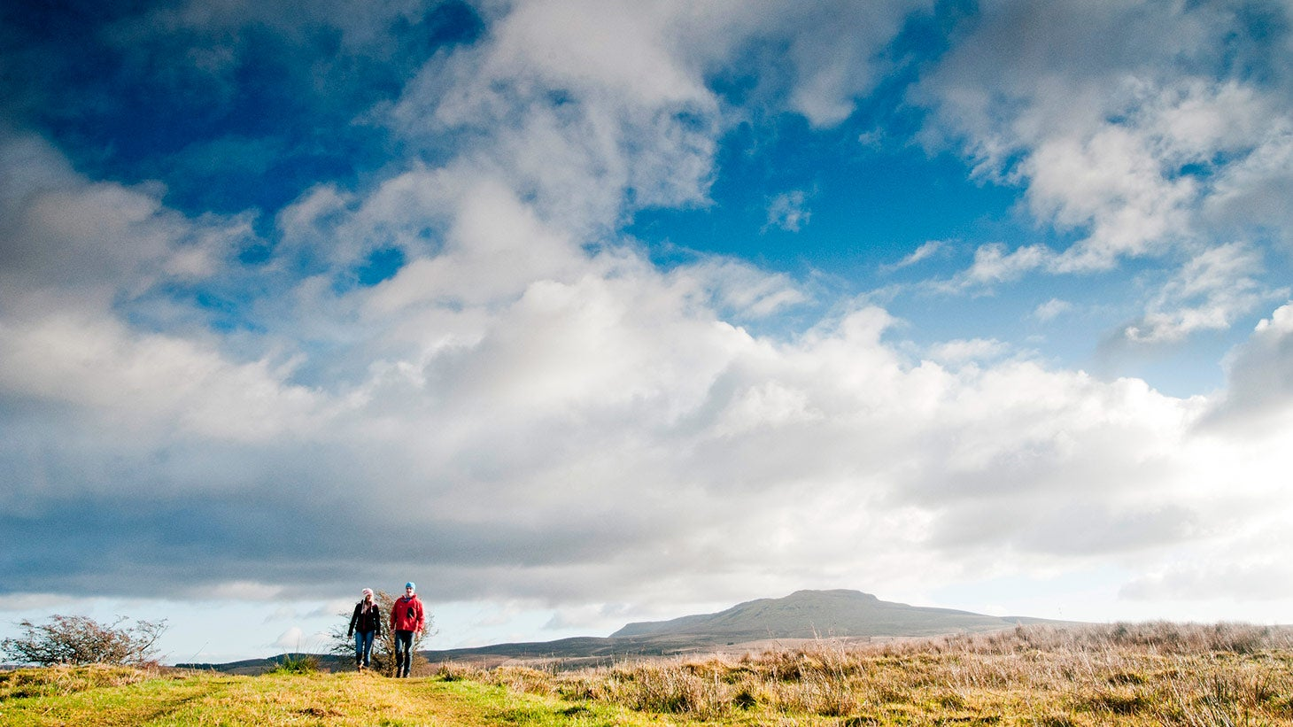 Explore the walking trails at Cavan Burren Park.