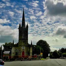 Image of Clonaslee town in County Laois