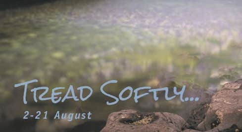 tread softly festival poster dates 2 -21 August