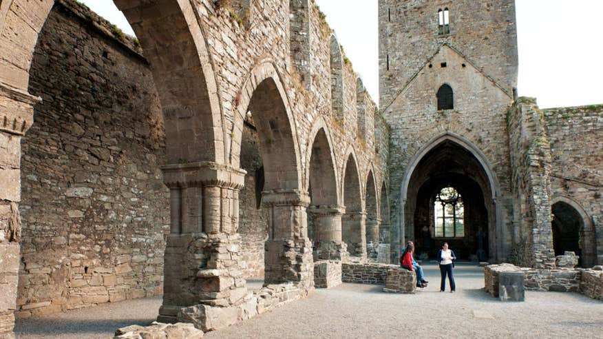 See the magnificent carvings at Jerpoint Abbey.