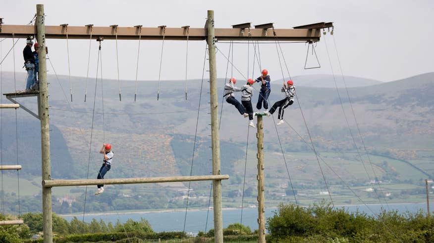 Have fun with all the family at Carlingford Adventure Centre.