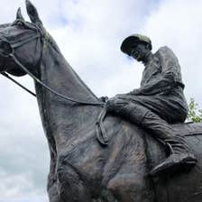 Image of a statue in Ashbourne in County Meath
