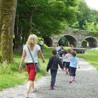 Walking at the Castlecomer Discovery Park