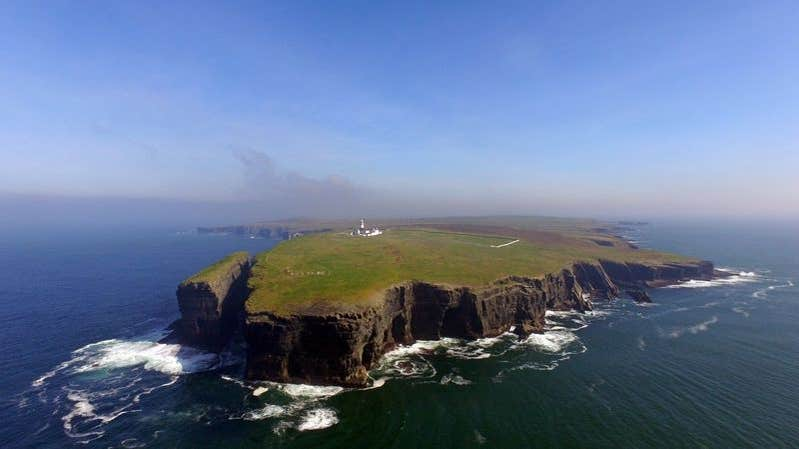 Stand on the edge of the world at County Clare's Loop Head