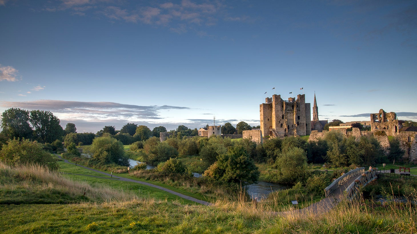Visit Irelands largest Anglo-Norman castle in Trim.