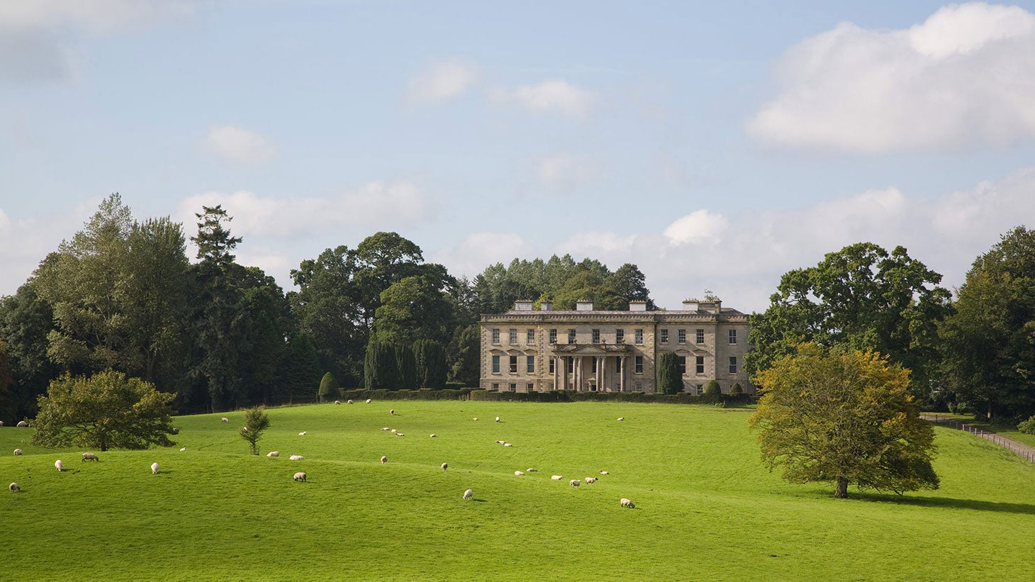 The stately Hilton Park country house, Co. Monaghan.