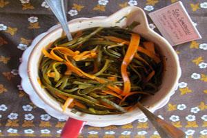 Image of seasweed dish