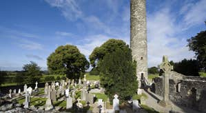 Monasterboice High Cross and Round Tower