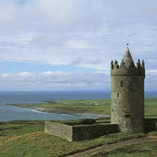 Image of Doonagore Castle in Doolin in County Clare