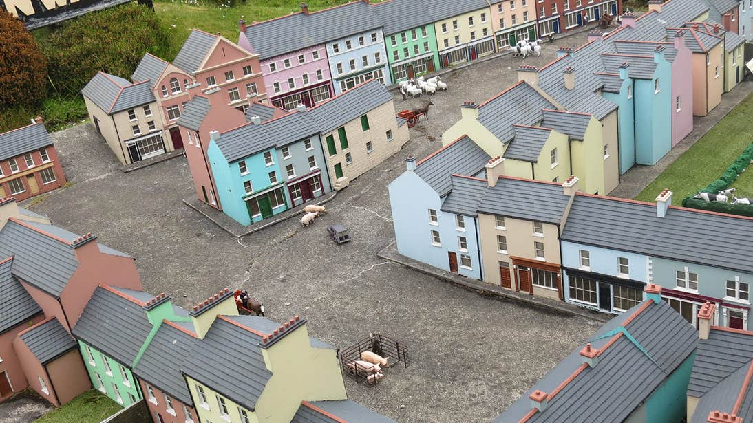 Check out the model village in West Cork.