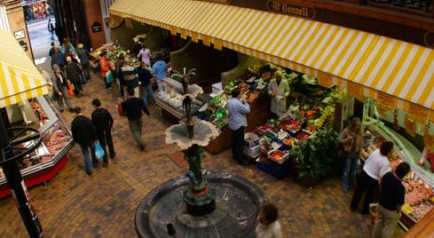 Image of the English Market in County Cork