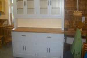 Large white kitchen dresser by Pine Rack