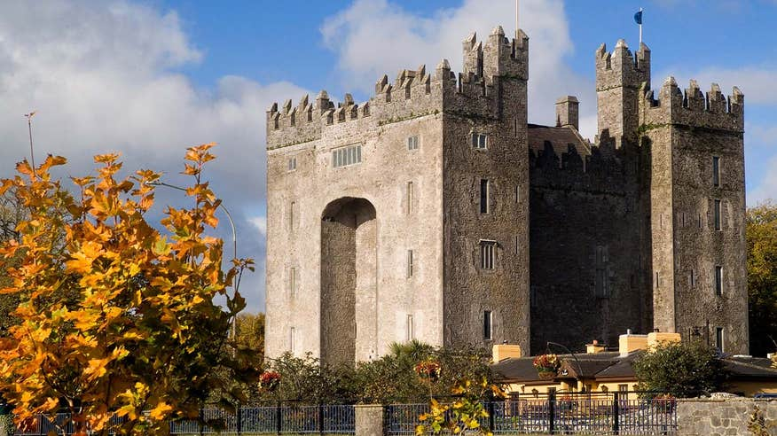Learn about our past at the majestic Bunratty Castle.