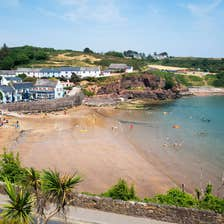 Beach at Dunmore East, County Waterford