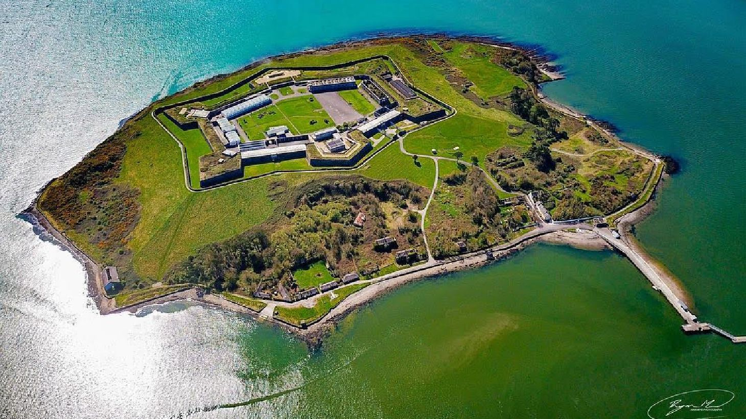 Explore Spike Island in Cobh, County Cork.