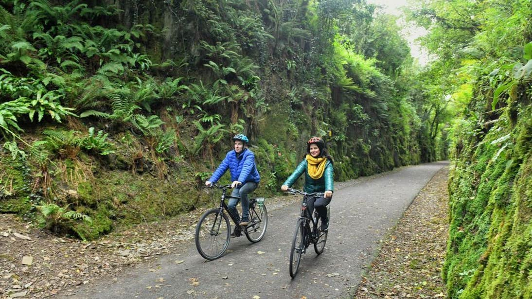 Cycling on the Waterford Greenway, Co. Waterford