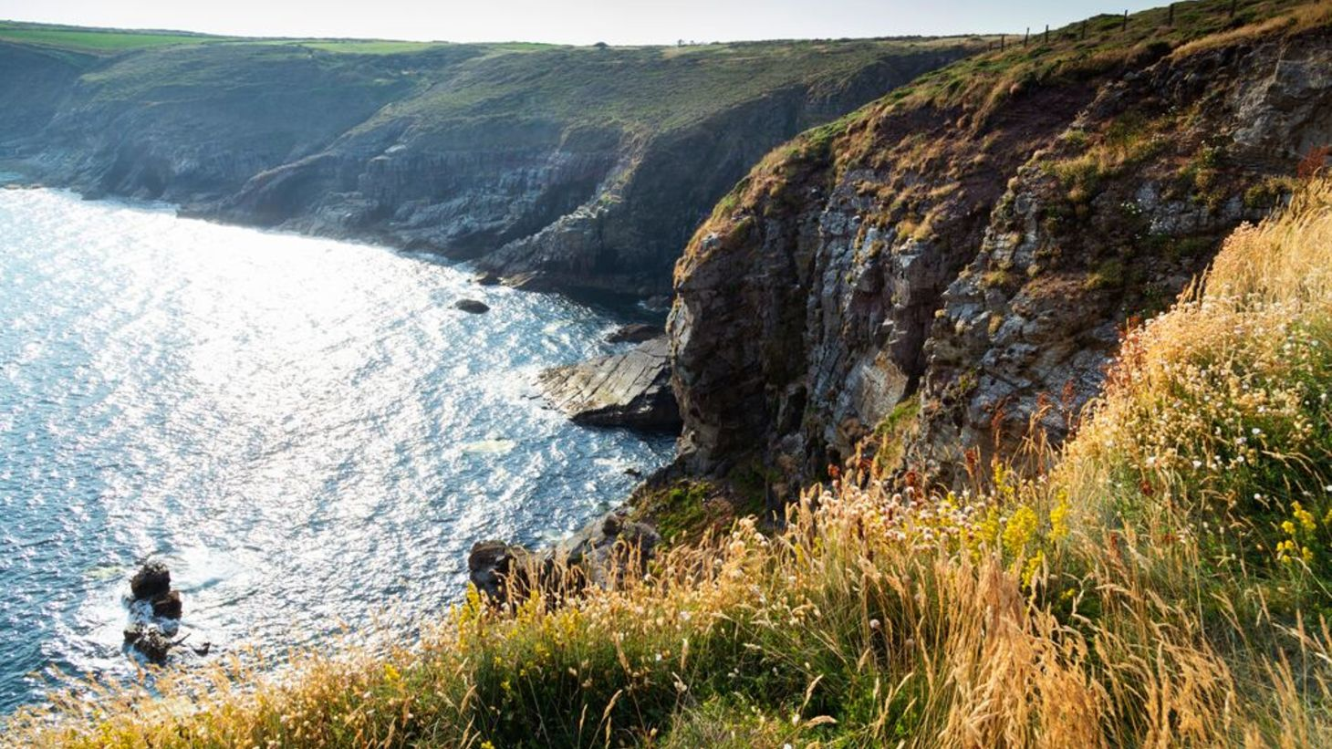 The incredible Ardmore Cliffs on Waterford's coast.