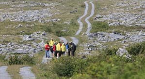 Walking in the Burren, Co. Clare