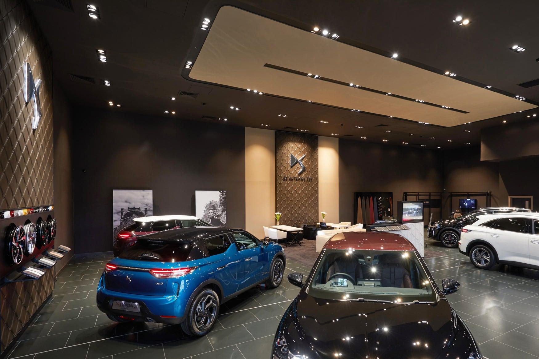Car showroom in Birmingham