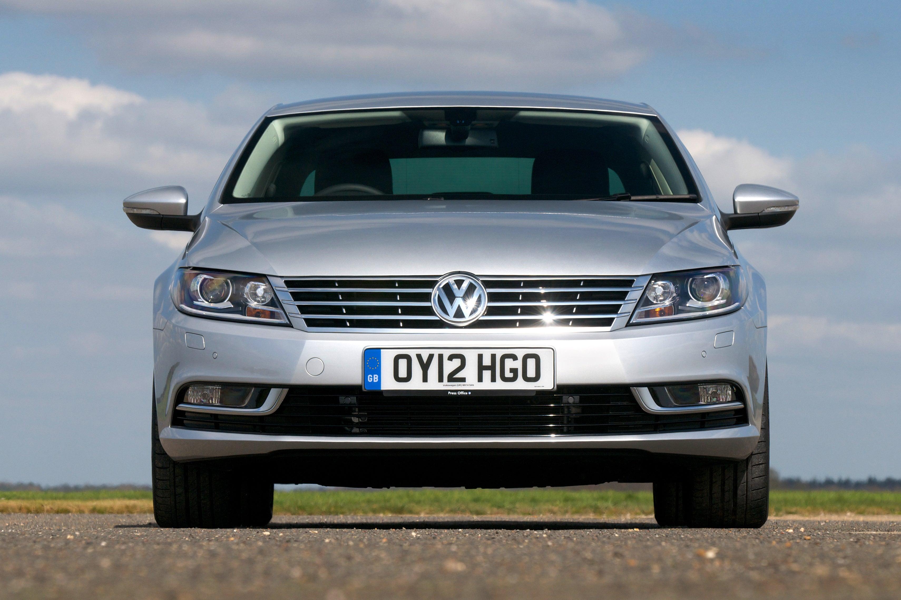 Volkswagen CC Front View
