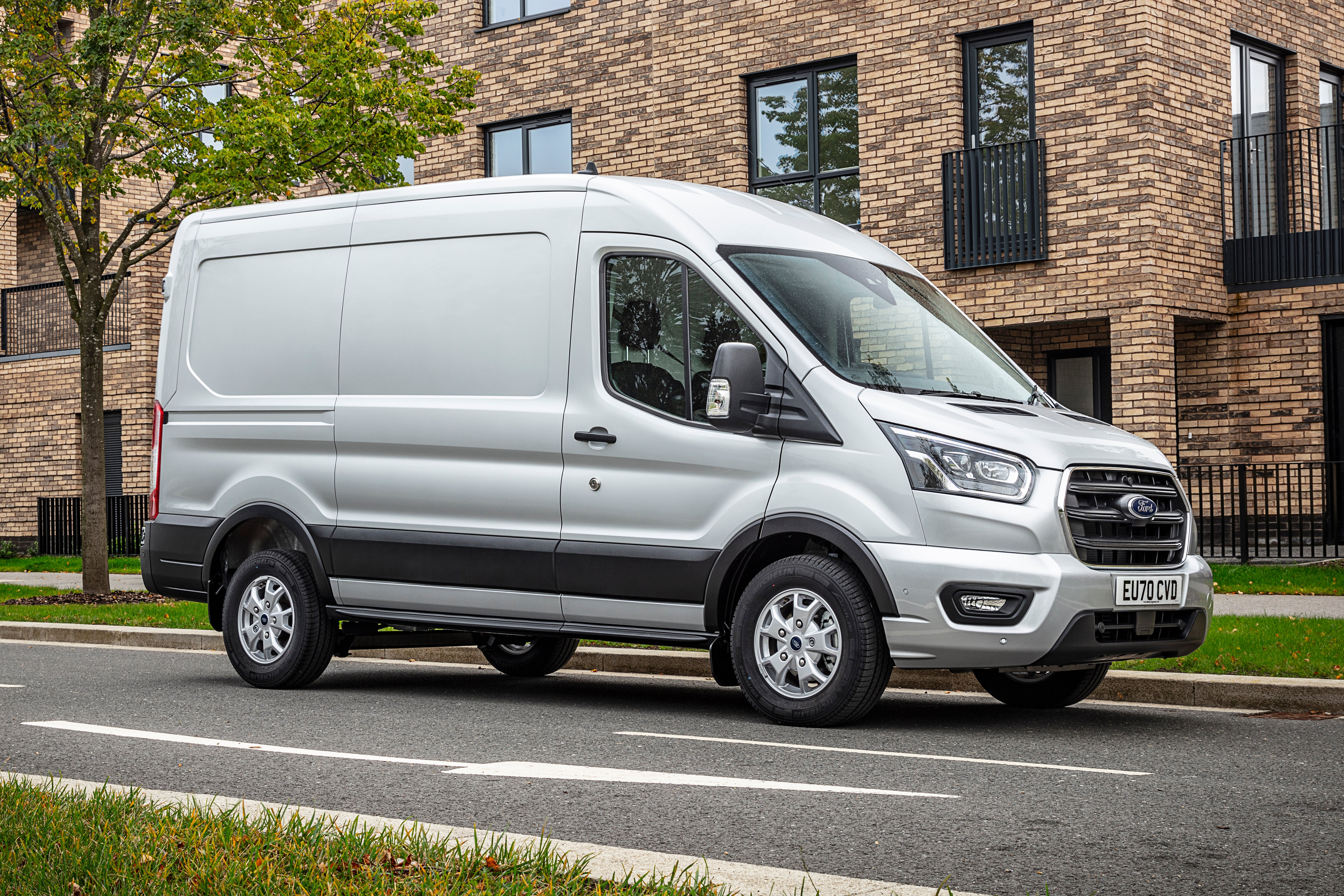 Ford Transit 2020 on road