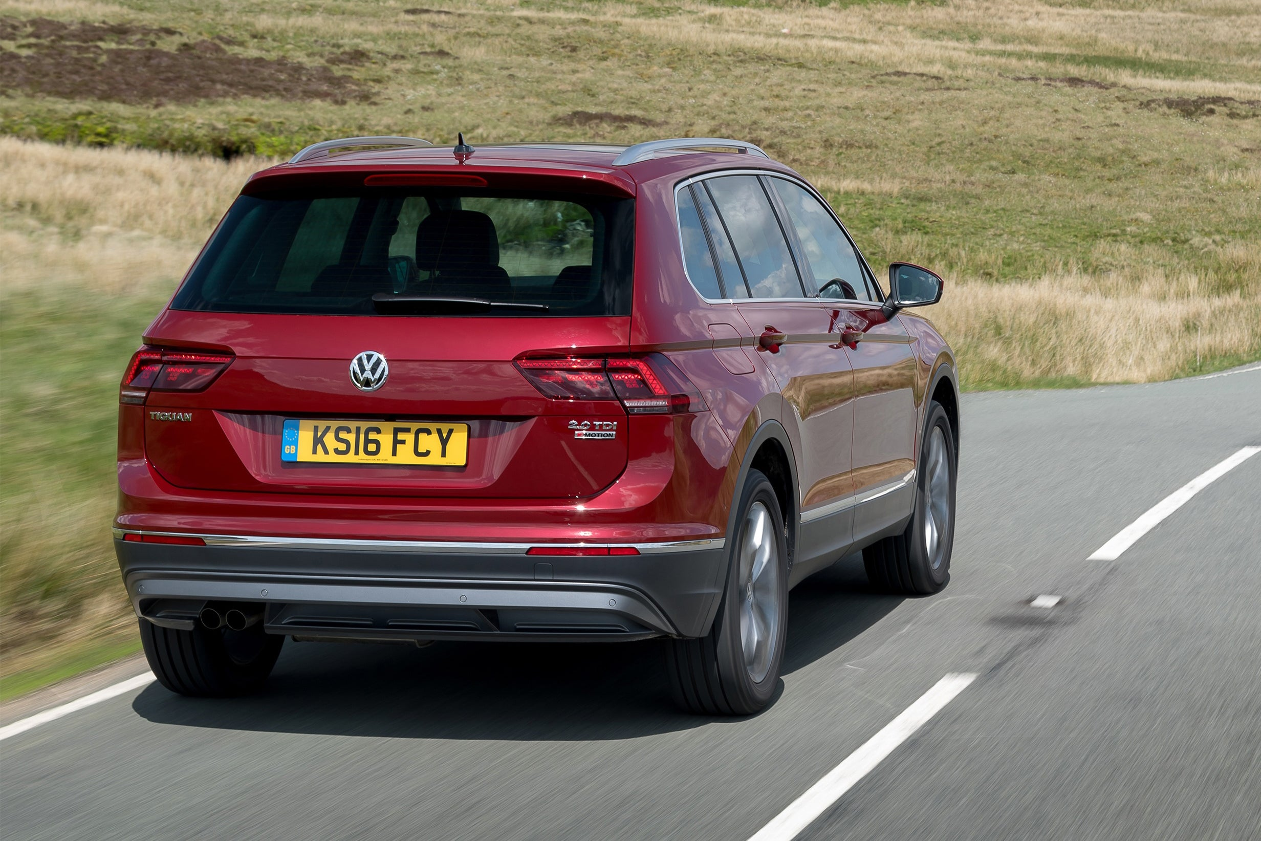 Volkswagen Tiguan Rear View