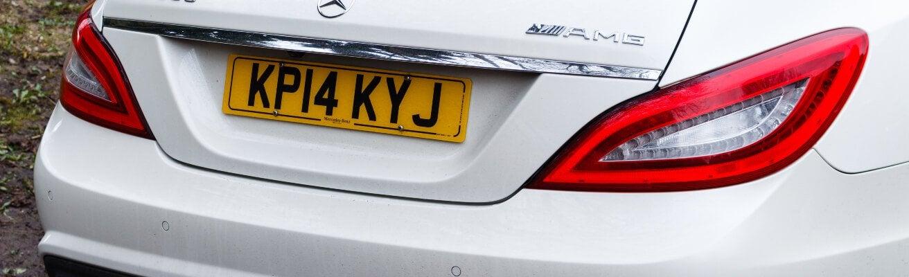 Mercedes 2014 plate
