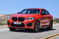 BMW X4 M Competition dynamic front-three quarter