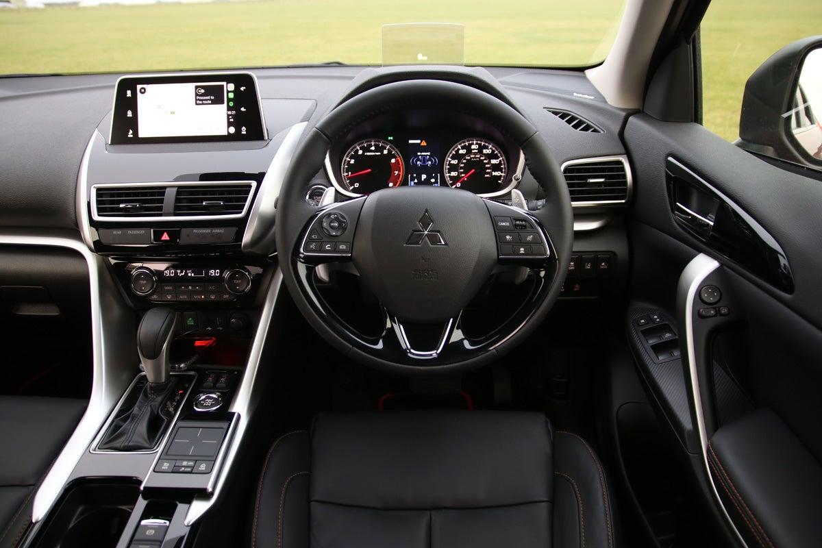 Mitsubishi Eclipse Cross front interior