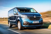 Renault Trafic Side Front View