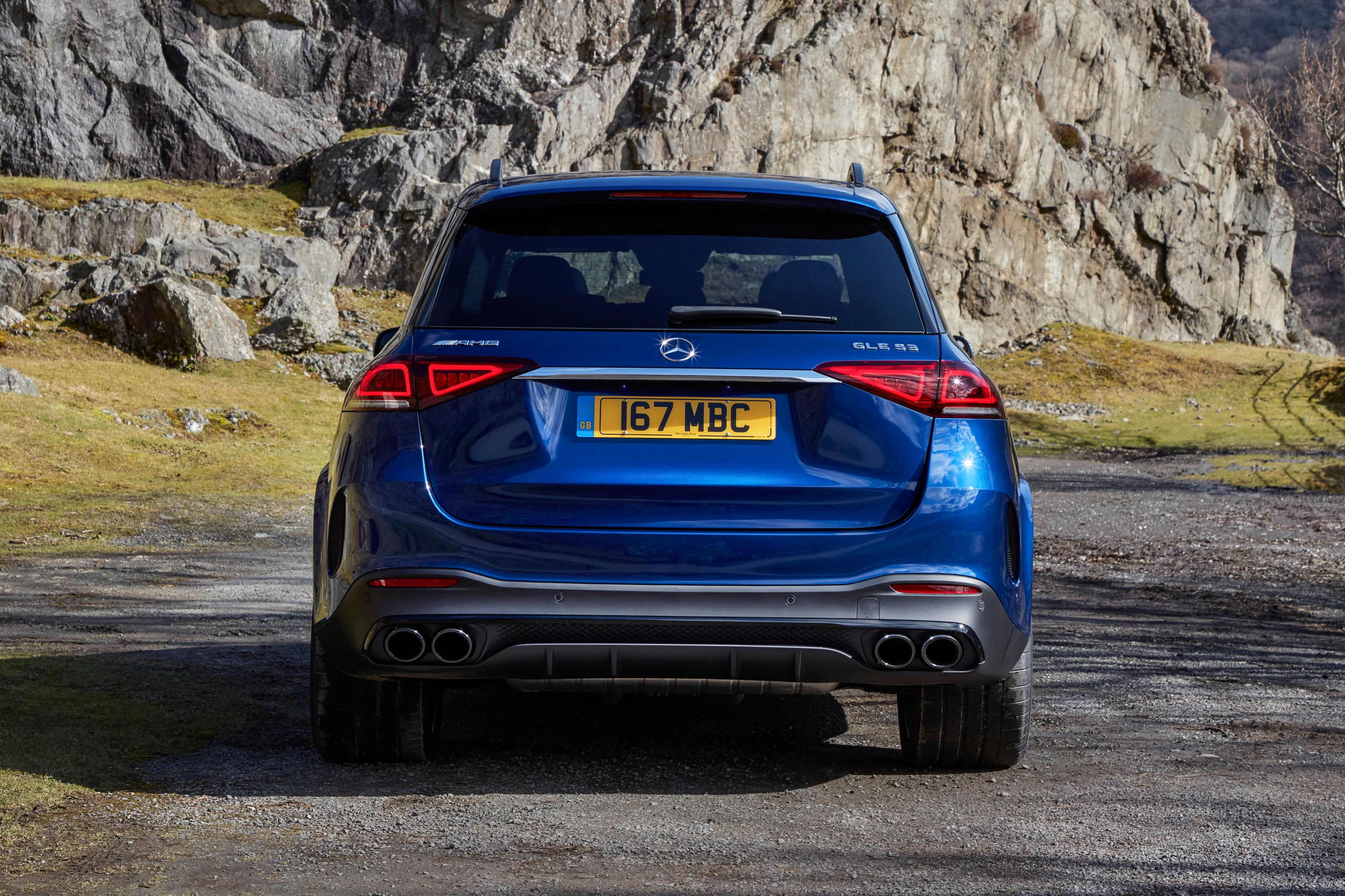 Mercedes GLE rear exterior