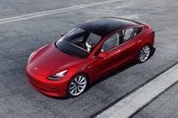 Tesla Model 3 Overhead View