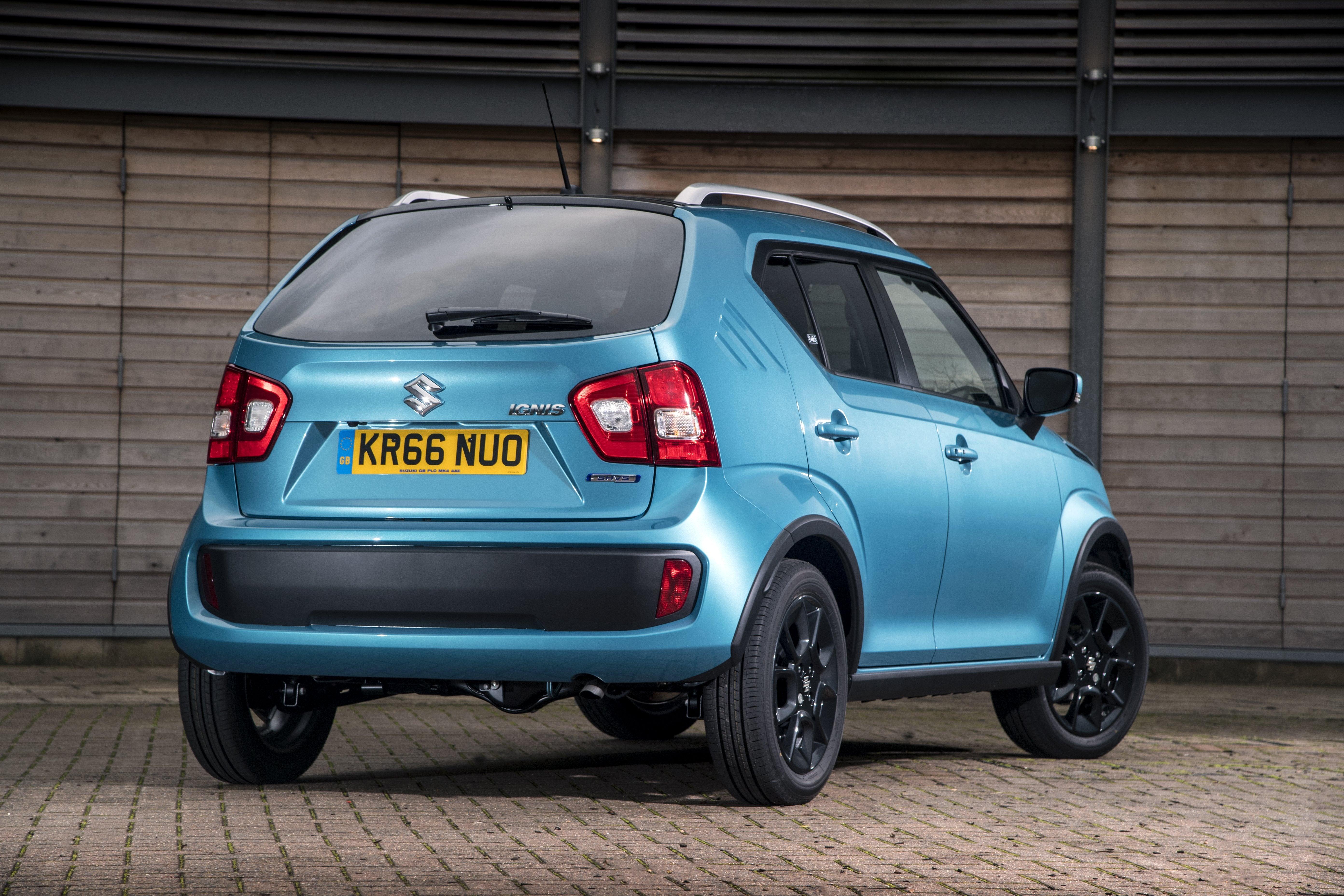 Suzuki Ignis Rear Side View