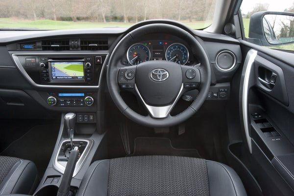 Toyota Auris Driver's Seat