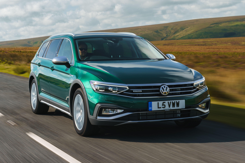 Volkswagen Passat Alltrack Front View