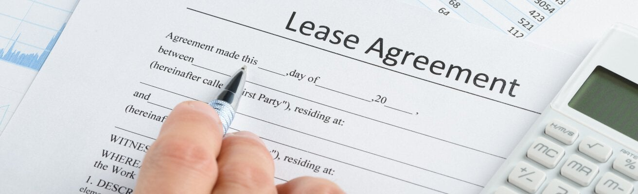 lease agreement signed