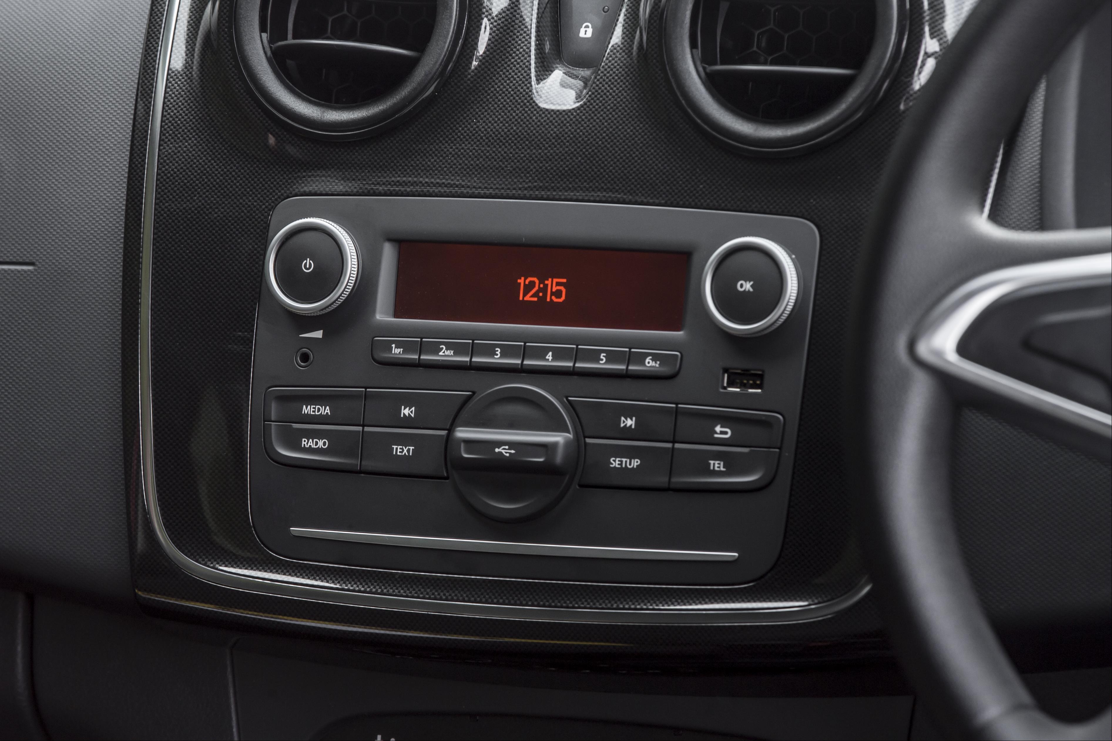 Dacia Logan MCV  Centre Console