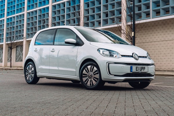 Volkswagen e-Up Front Side View